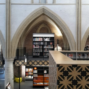 Bibliotheek in Broederenkerk